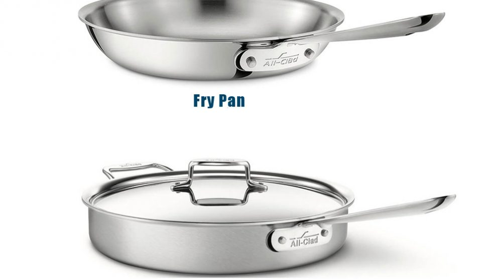 What is the Difference Between Fry Pan and Sauté Pan