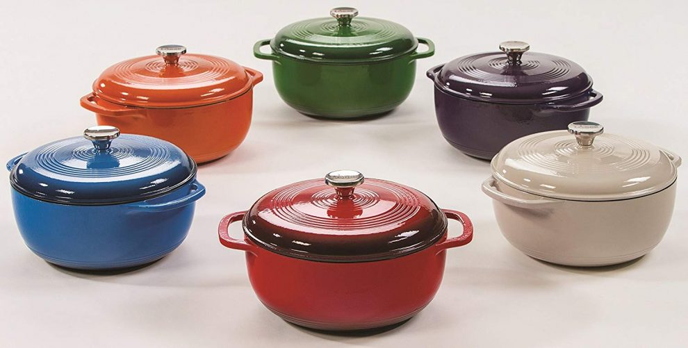 Lodge Cast Iron Enameled Dutch Oven review