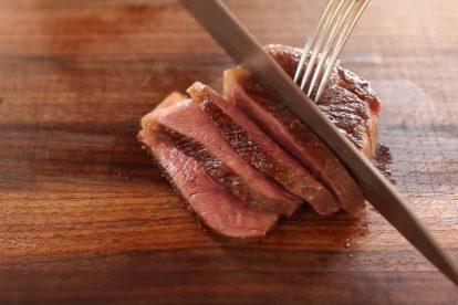 how to pan fry steak