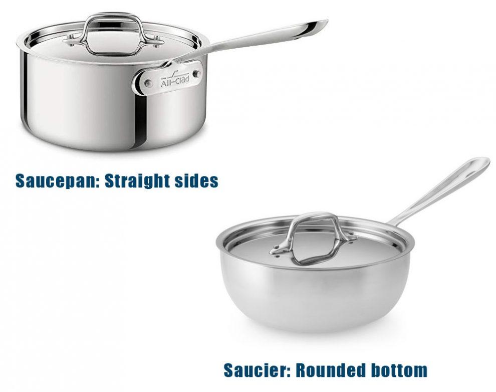 Saucepan vs Saucier