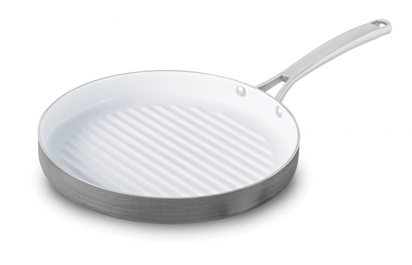 Ceramic Nonstick 12-Inch Round Grill Pan