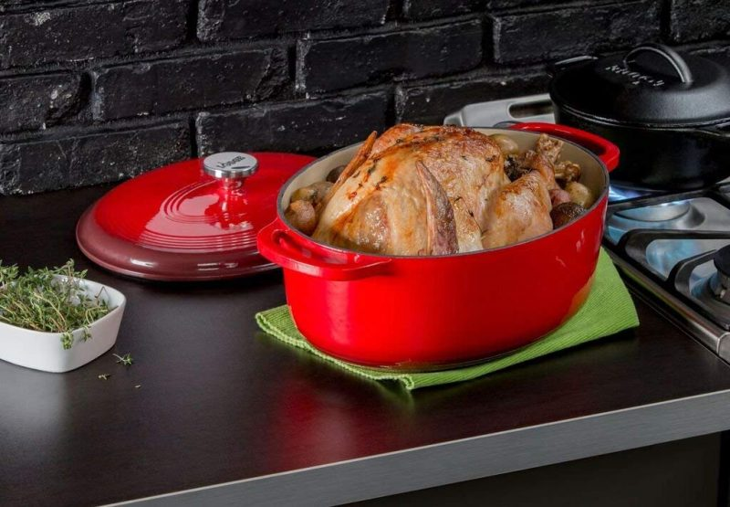 Cooking with an Oval Dutch Oven