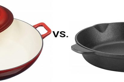 Enamel versus Bare Cast Iron