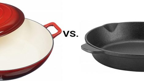 Enamel versus Bare Cast Iron