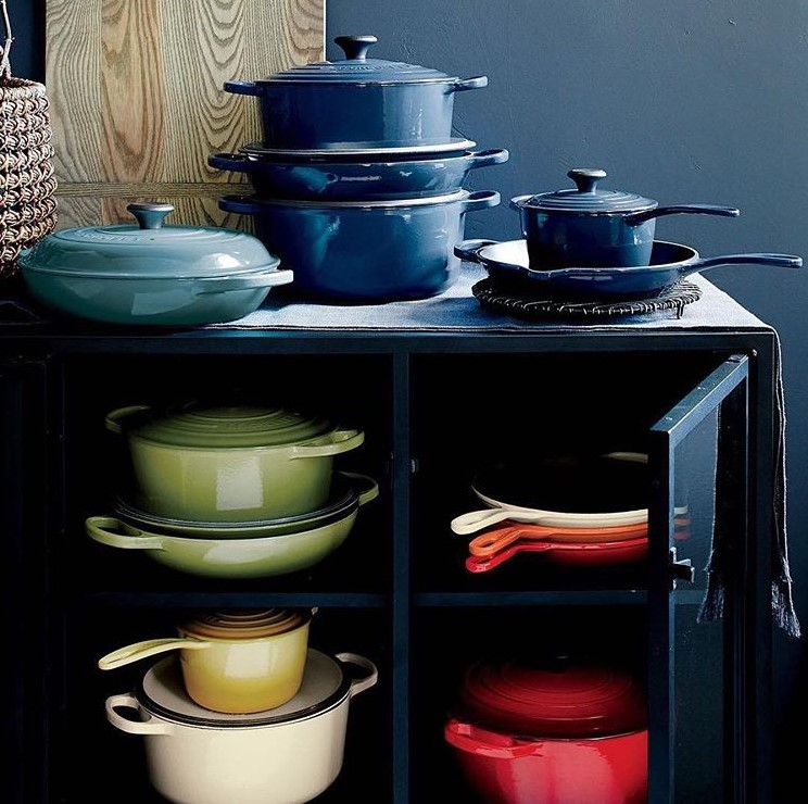 Le Creuset Sizes Storage