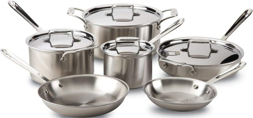 All-Clad D5 Cookware Set