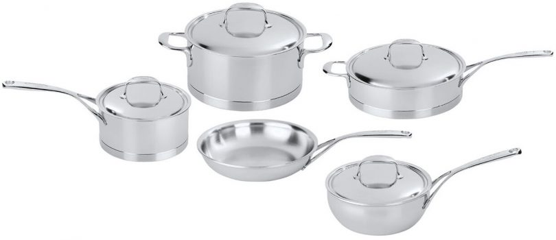 Best Performance: Demeyere Atlantis Seven-Ply Cookware Set
