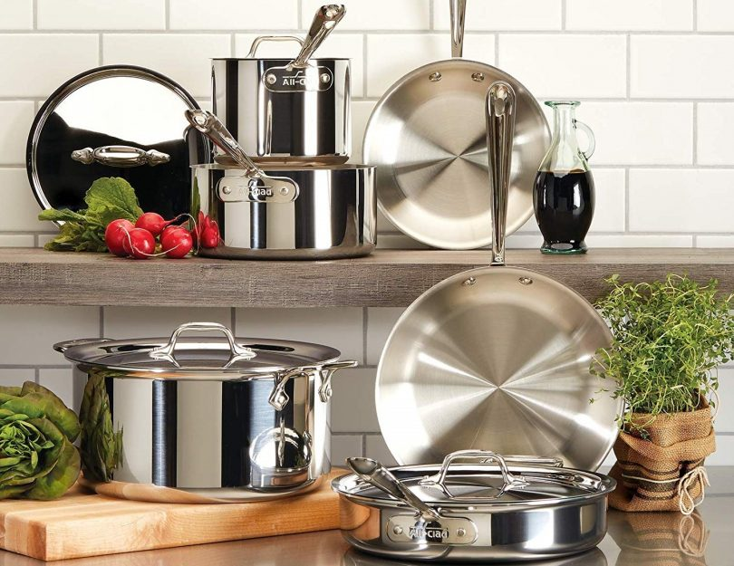 All-Clad D3 Cookware Set