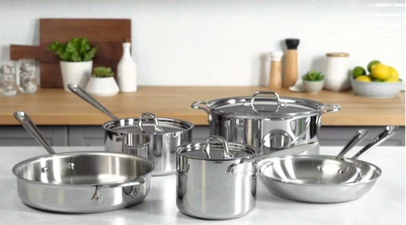 Our Top Pick: All-Clad D3 Stainless Cookware